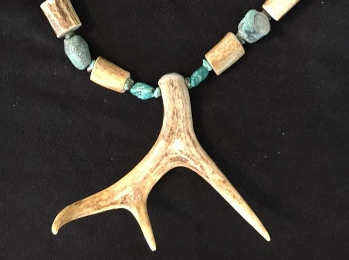 Jacks Gems Antler Necklace