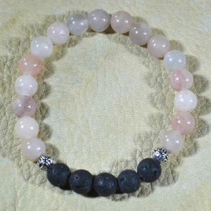Pink Aventurine Aromatherapy Bracelet by Jack's Gems