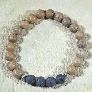 Grainstone Aromatherapy Bracelet by Jack's Gems