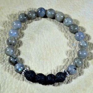Labradorite Aromatherapy Bracelet by Jack's Gems