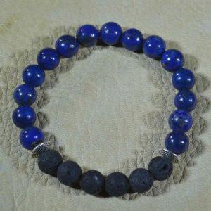 Lapis Lazuli Aromatherapy Bracelet by Jack's Gems