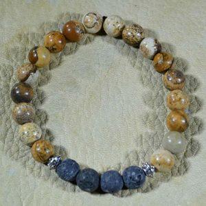 Picture Jasper Aromatherapy Bracelet