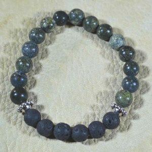 Russian Serpentine Aromatherapy Bracelet