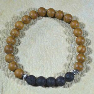 Tiger Jasper Aromatherapy Bracelet